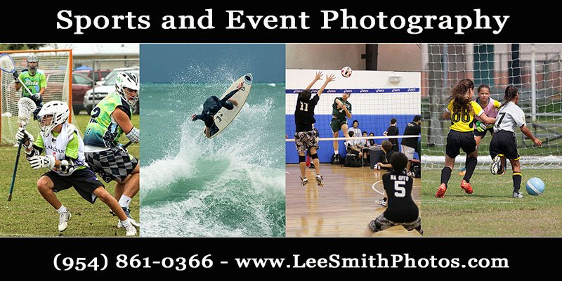 Broward Sports Photography covering Broward County by Lee Smith Photos